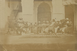 Urdu class in the Government Normal School, Lucknow